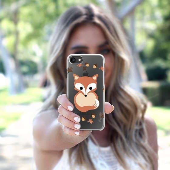 Fox in autumn iPhone 7 Case by VanessaGF  https:// buff.ly/2wogGtb  &nbsp;   #fox #animal #cartoon #cute #iphonecase #illustration #cutefox @Casetify<br>http://pic.twitter.com/sYkehopOJI
