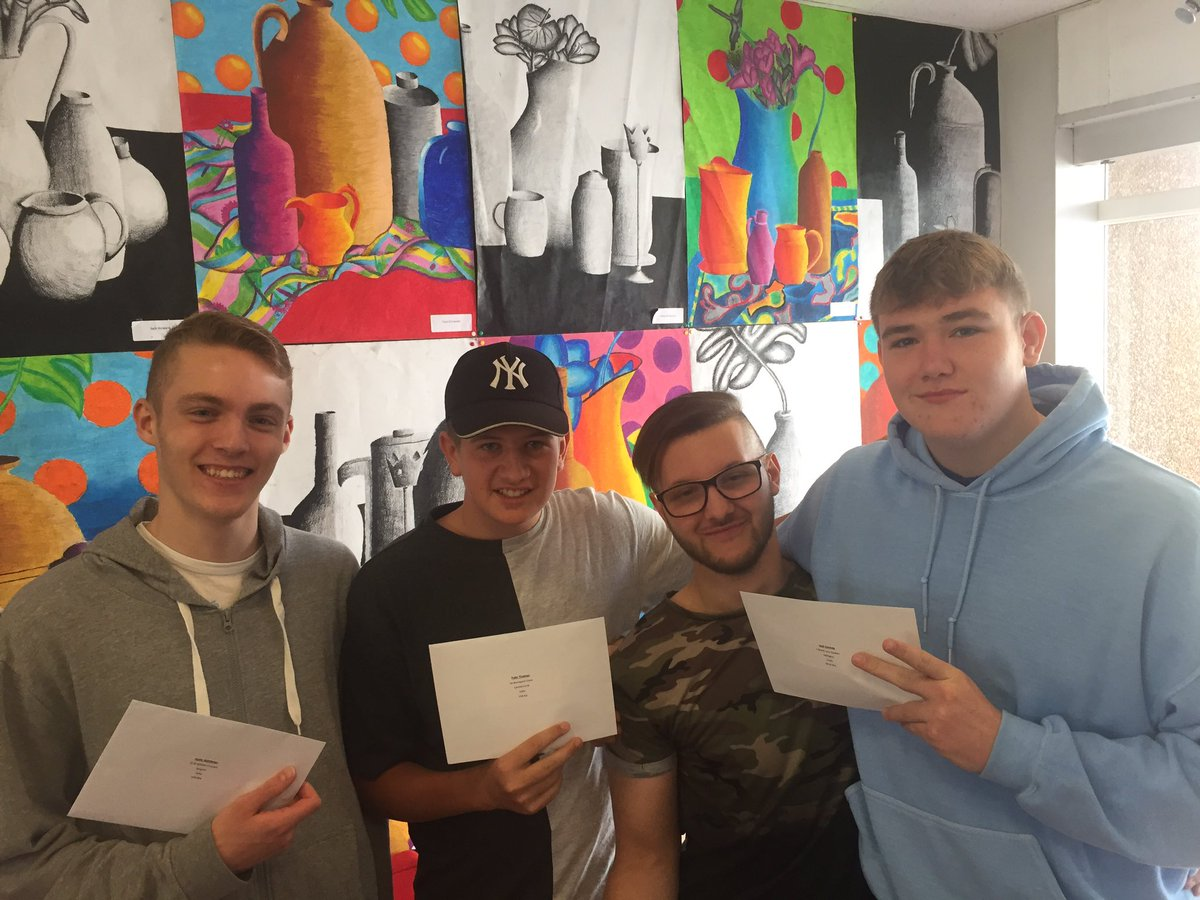 Great to celebrate with our happy year 11 leavers. Great results - 70% (9-4 ). The hard work paid off!  #bestresultsever