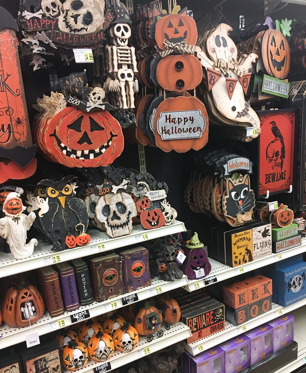 ac moore on twitter spotted in acmoore 40 off spooktacular seasons by nicole vintage halloween decor onlyatacmoore
