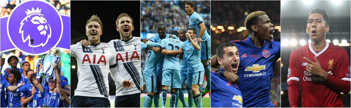 Congratulations to #England for having five teams in the #ChampionsLeague!  #liverpool #ucldraw #tottenham #mancity #manutd #chelsea #ucl<br>http://pic.twitter.com/xvbIhsyBvn