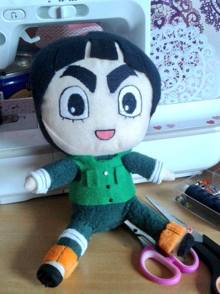 Finished#rocklee kun ! #naruto #plush #plushie #chibi #nendoroid #cute #kawaii #doll #anime #commission<br>http://pic.twitter.com/aWqsSPUbSR
