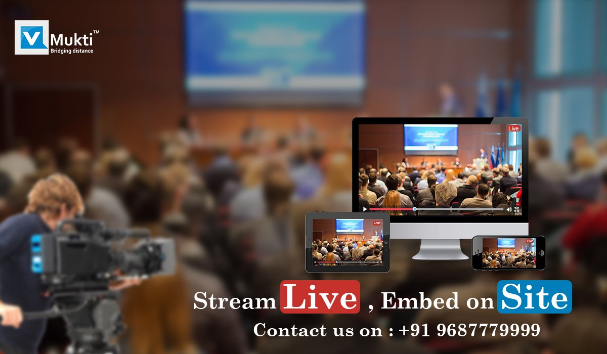Streaming Live, Embed on Site. Contact us on: +91968777999  #Live #Webcast #Streaming #ProductLaunch #DigitalIndia #TransformIndia<br>http://pic.twitter.com/BugYpD80J3