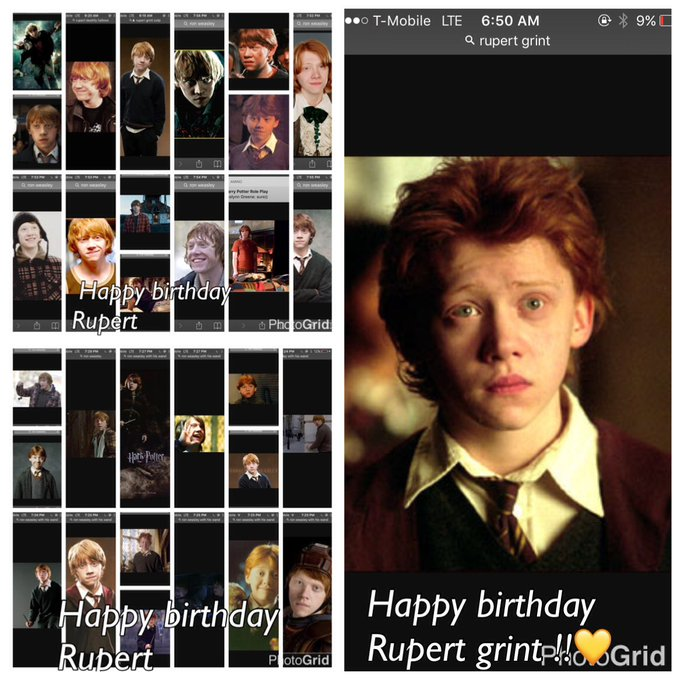 Happy birthday Rupert Grint