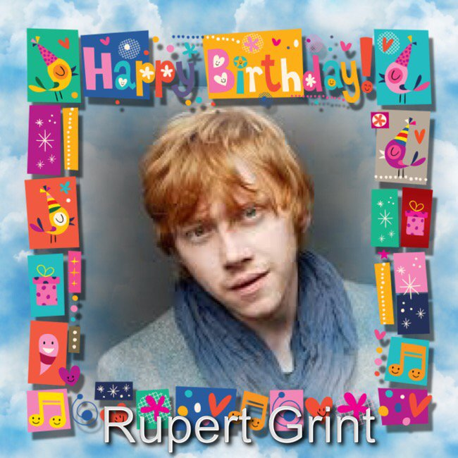 Happy Birthday Rupert Grint, Lucy Mecklenburgh, Ian Grob, Sam Torrance, Jared Harris & Orla Fallon