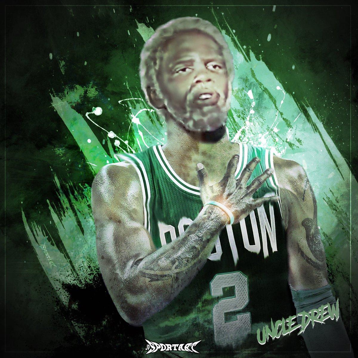 Uncle Drew has landed... #NBA #BostonCeltics #UncleDrew https://t.co/D...