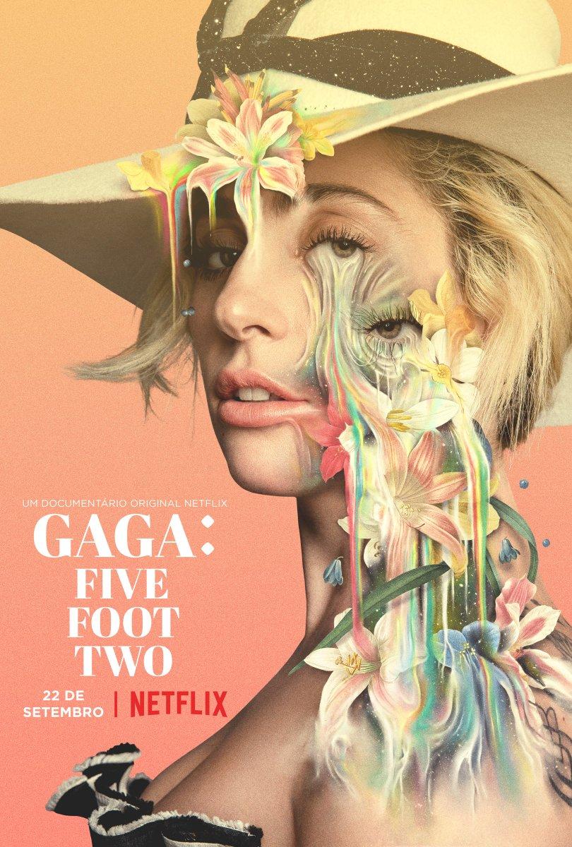 A mulher por trás do ícone. #GagaFiveFootTwo, um documentário original Netflix, estreia dia 22/09.