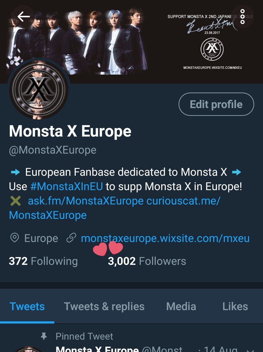 Monsta X Europe on Twitter: