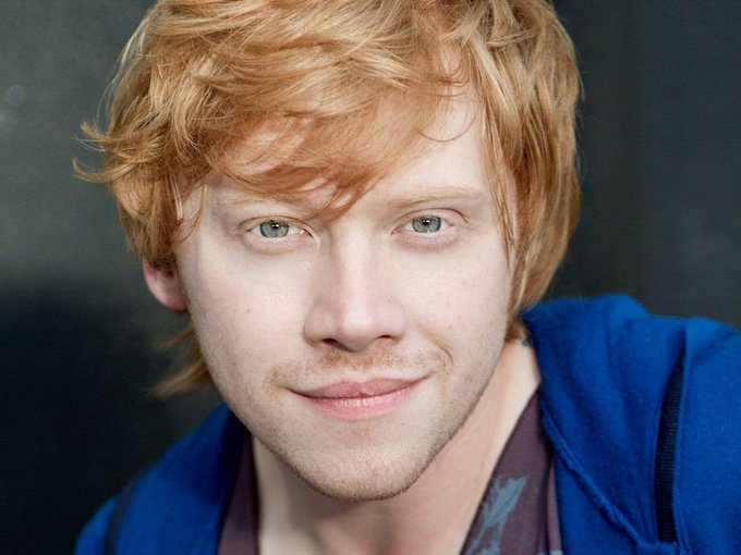 Have a Happy Wizarding Birthday Rupert Grint!