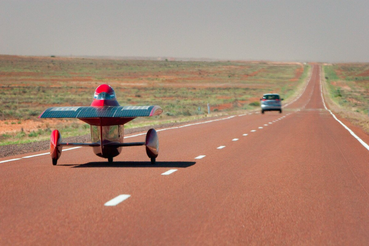 Solar Team Twente On Twitter 2009 The First Red Solar Car From Twente Is A Fact The 21revolution Drove Us To An Eighth Place Theredchallenge Innovation Https T Co Pljr8lad99
