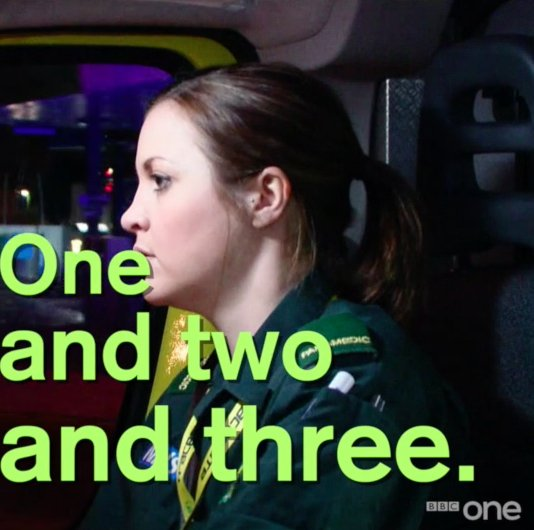 Nail biting. ������ A man suddenly stops breathing and the race to save his life begins. #Ambulance https://t.co/Dxbif7XoMt