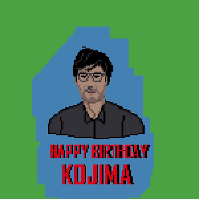 Happy birthday kojima