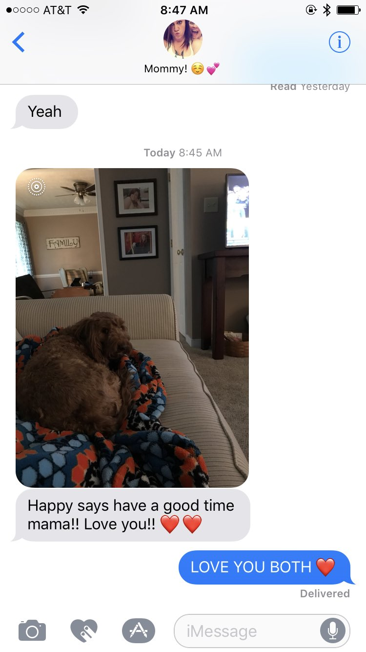This is why my mother is simply the best ��#puppymomforlife https://t.co/mAeIWKC8j3