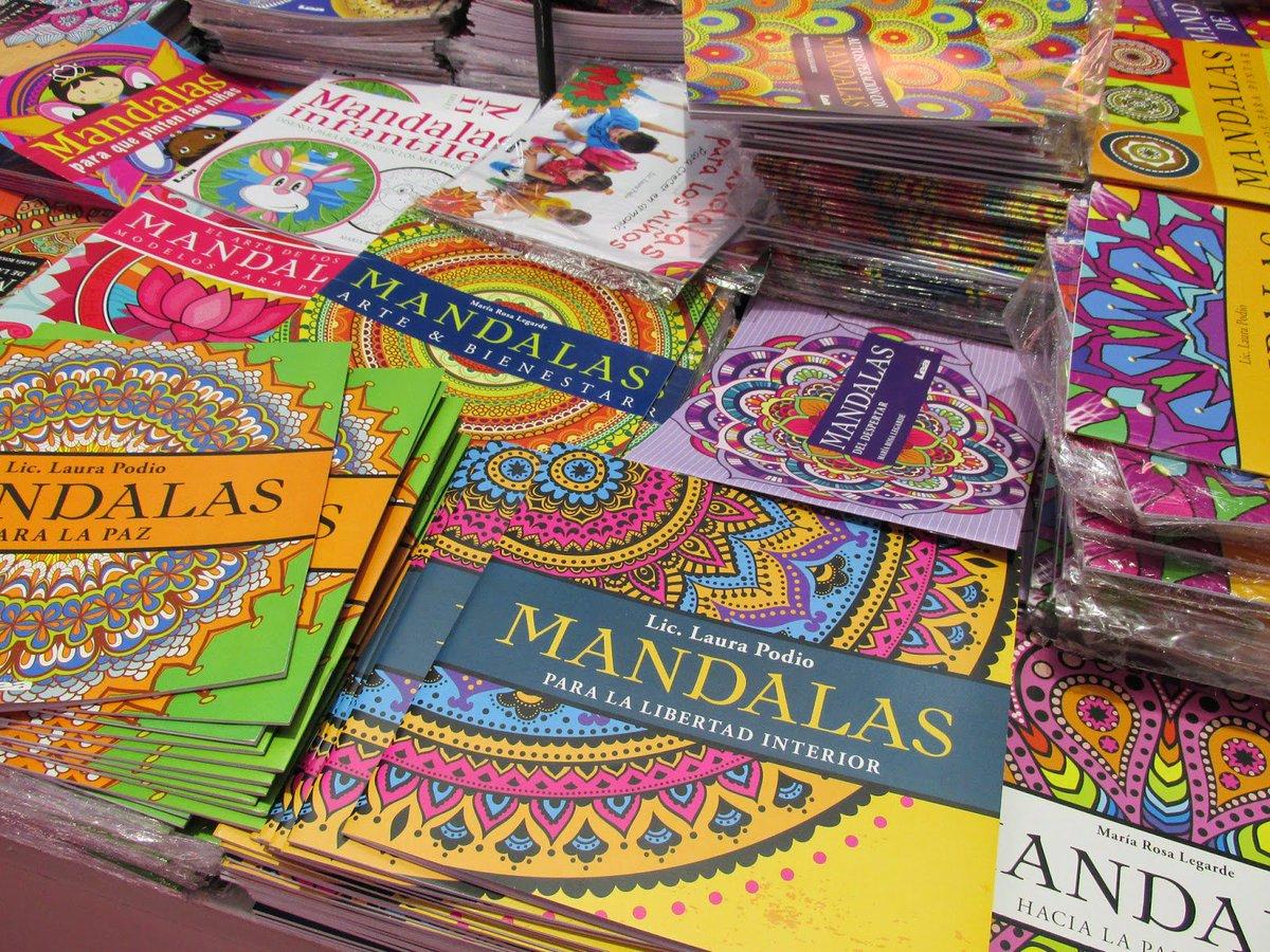 Piso 97 Fm Provincia On Twitter Los Libros Para Colorear Mandalas