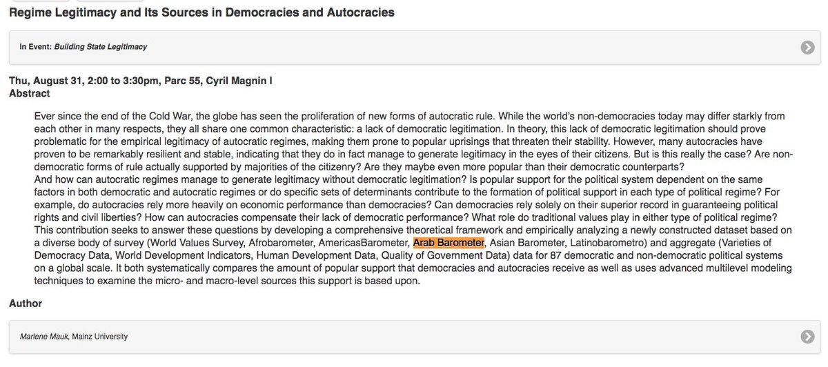 sources of legitimacy