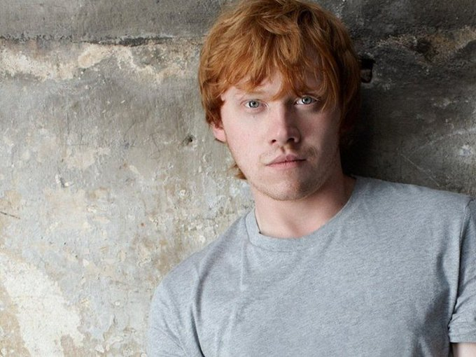Happy Birthday to our king Rupert Grint [Ron Weasley];  Wish him ...