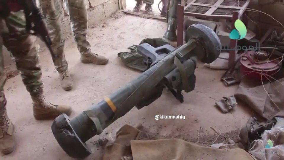 """العراق يملك صواريخ """" جافلين """" المضاده للدروع !!! DH_wkU3WsAEsrGD"""