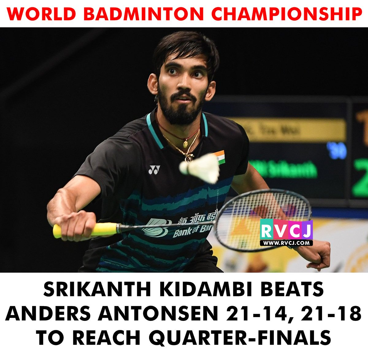"RVCJ Media on Twitter ""Srikanth Kidambi beats Anders Antonsen 21"