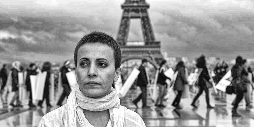 #Syria actress Fadwa Suleiman, icon of civil and secular #Revolution anti #Assad dies in #Paris this morning, at age 47, from illness.. #sad <br>http://pic.twitter.com/8kBLMQGN0l
