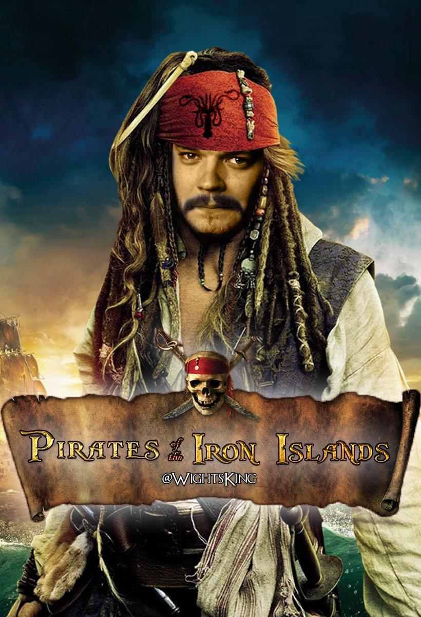 Pirates of the Iron Islands #GameOfThrones  #PiratesoftheCaribbean <br>http://pic.twitter.com/8Z30U4xpCM