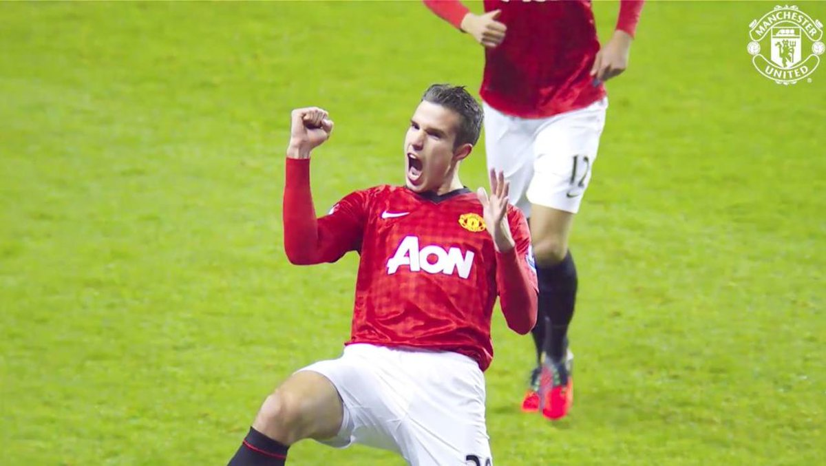 Robin van Persie wasn't given enough appreciation. Sir Alex Ferguson's last major signing and what a signing he was. Thank you for 20, Robin. #mufc