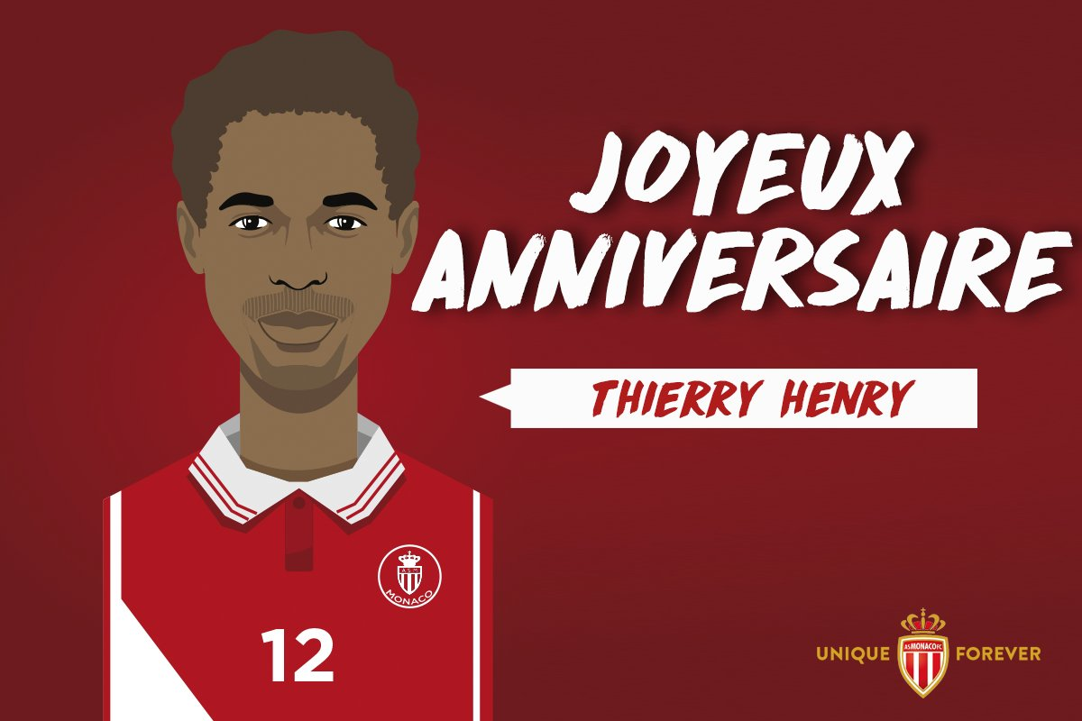 As Monaco On Twitter Un Tres Joyeux Anniversaire A La