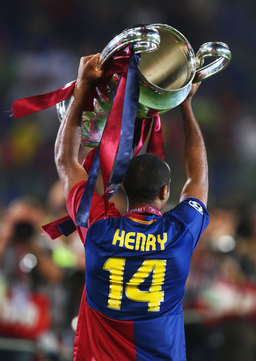 Wish 2009 winner & #UCL legend Thierry Henry a happy 40th birthday...