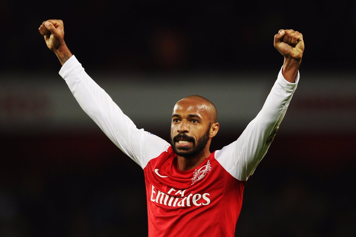Wish Thierry Henry a happy 40th birthday! 🎉🎂🎁  ❤️ if he is your favour...