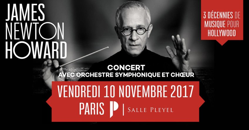 James Newton Howard en #concert avec un #orchestre #symphonique le 10 nov #sallepleyel Plus d'infos sur https://t.co/rSiqyvcRLc https://t.co/RMwbg6N24M