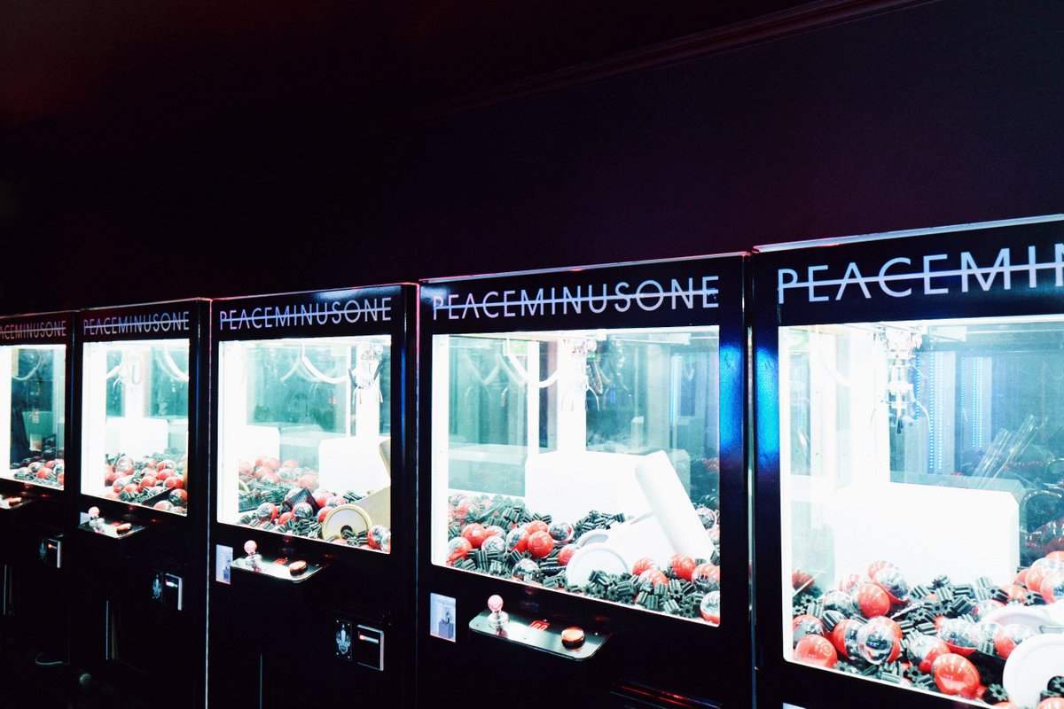 G-DRAGON手掛ける「PEACEMINUSONE」日本初の単独ポップアップを大阪に出店 https://t.co/1J8VbqZutB #peaceminusone #gdragon #gd