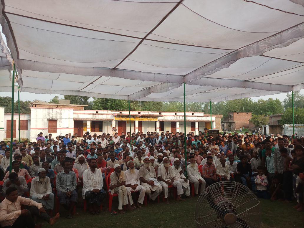 गाँव मदनपुर, बहेड़ी की जनता के संग बैठक की गई | #MeraPilibhit https://...