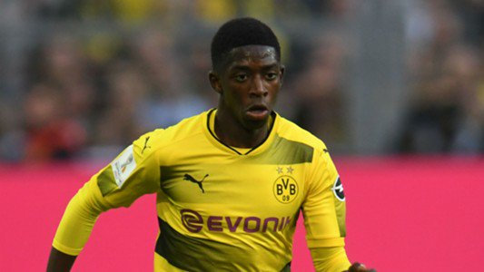 The story of #Dembele&#39;s transfer comes to an end #Barcelona and #Borussia #Dortmund settled for £90m+£30m bonus  #Footballcoin<br>http://pic.twitter.com/aXoZXanOFV