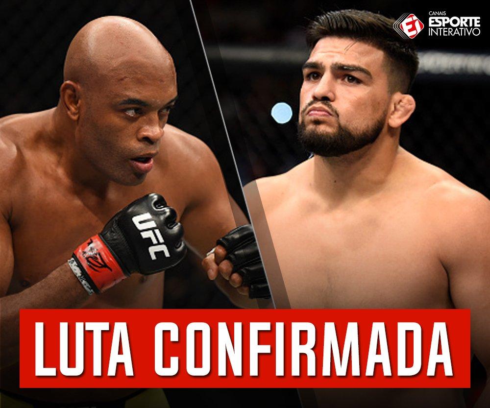 O @ufc confirma luta entre @SpiderAnderson e @KelvinGastelum no UFC de Xangai, no dia 25 de novembro! O BRASIL VAI ESTAR COM VOCÊ, SPIDER!