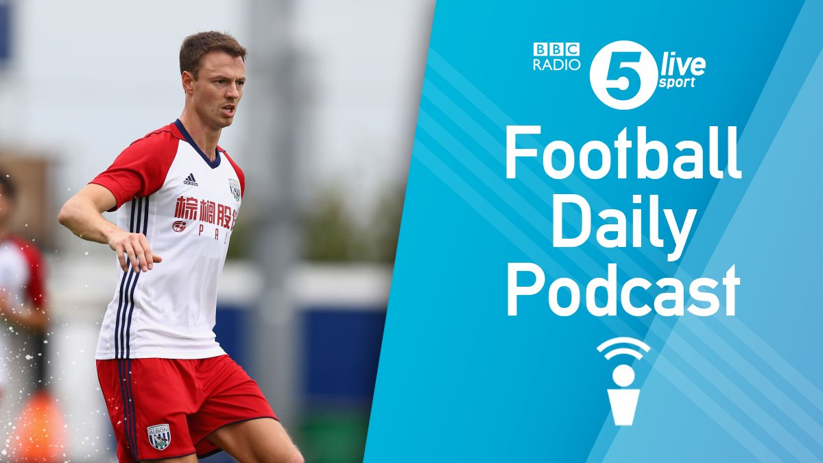 Evans would get plenty of game time at #MCFC'  Do you think Jonny Evans would be a good signing for City?  📻 https://t.co/zwlDhtms8r