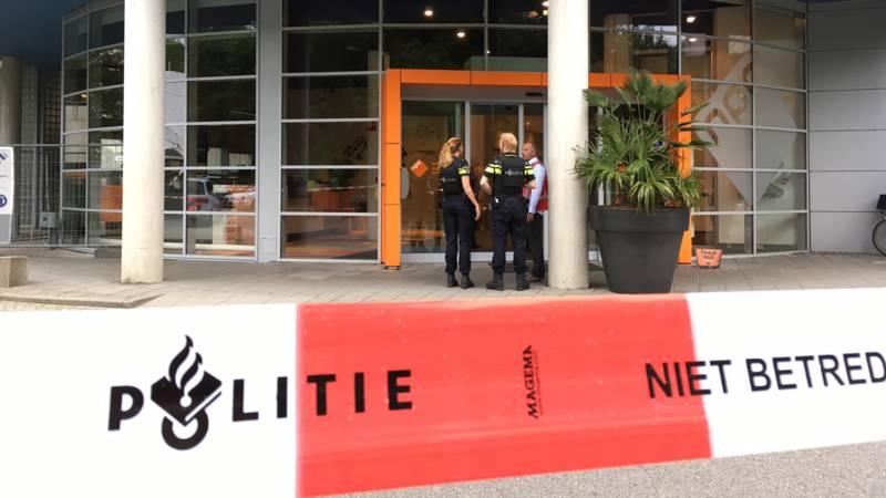 В здании радиостанции в Голландии произошел захват заложников