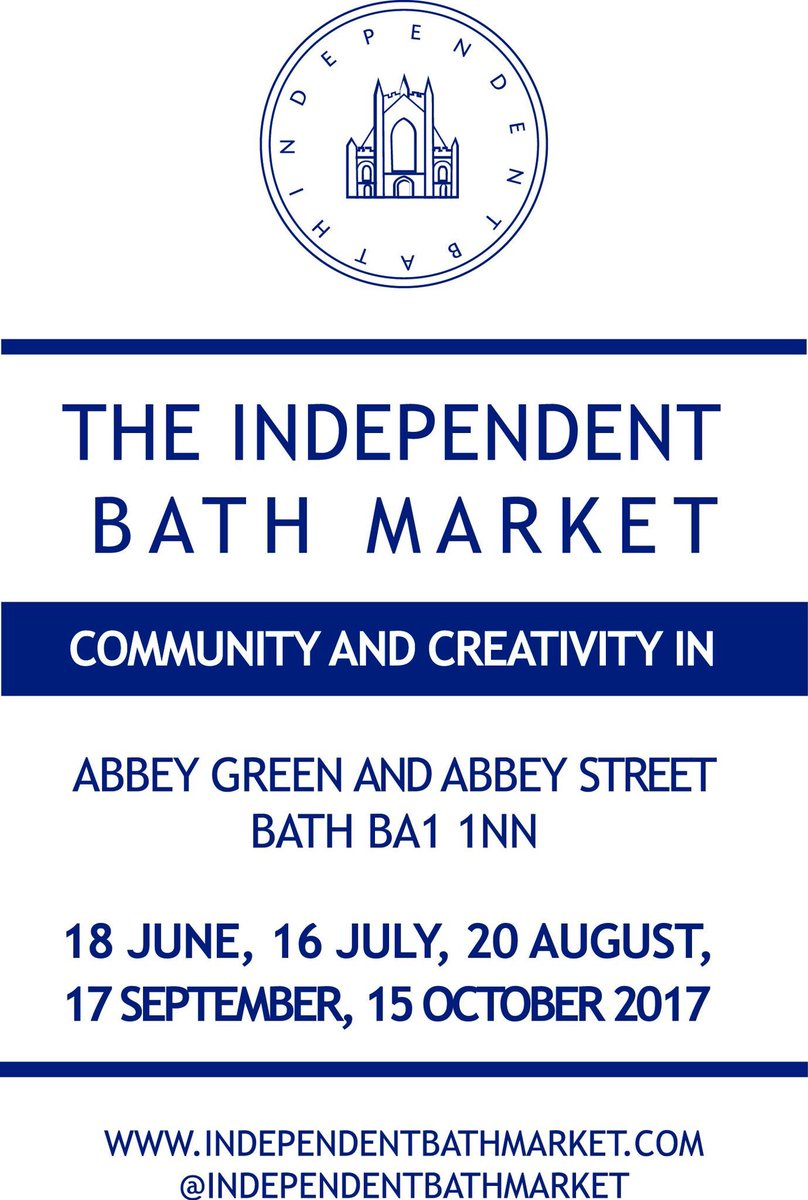 The wonderful #independentbathmarket returns this Sunday. Full of gorgeous crafts &amp; artisans. Just look for the tree  #Abbeygreen #bath <br>http://pic.twitter.com/ZKs3WX4lbd