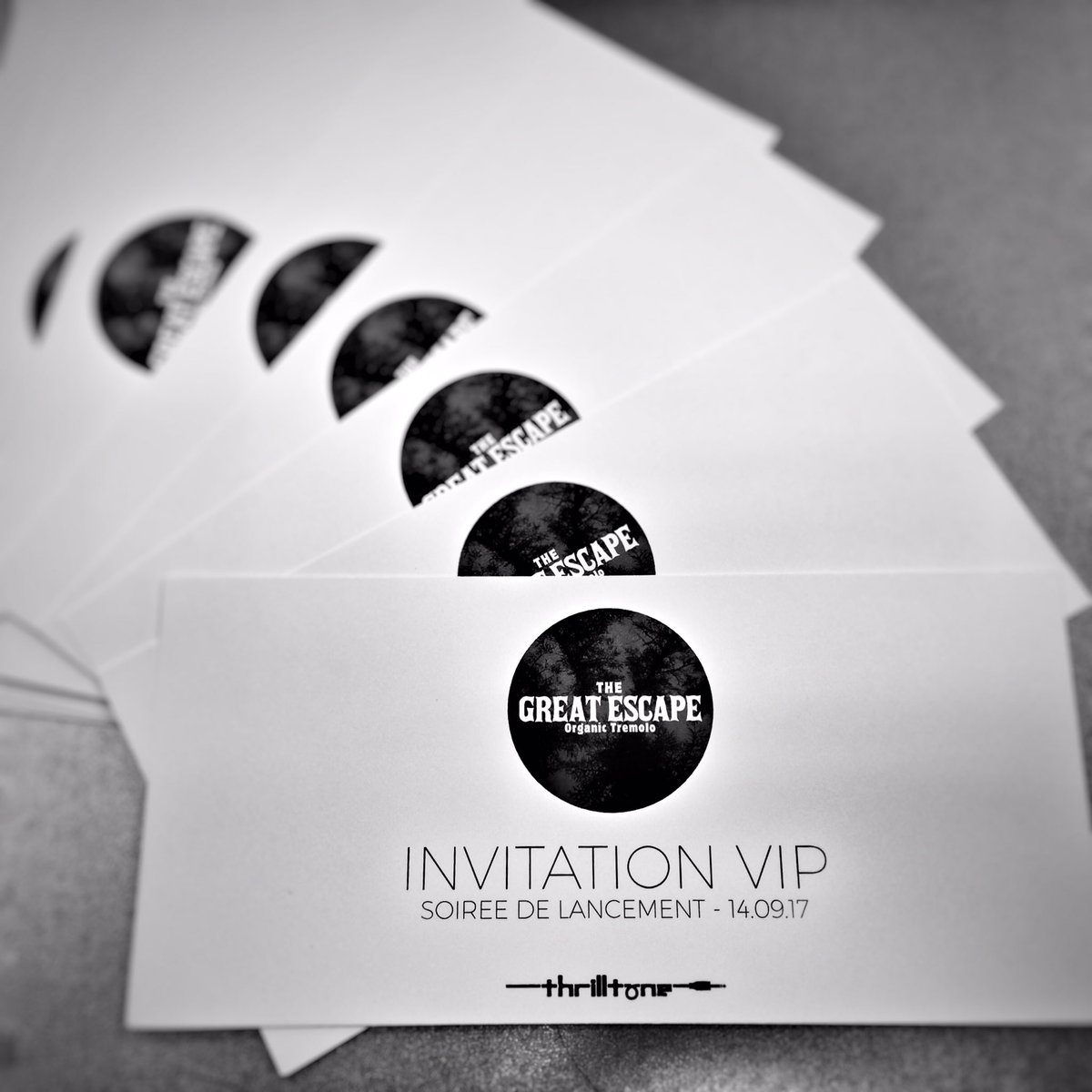 Sending postcards...  #TheGreatEscape #ReleaseParty #Sept14th #Strasbourg #VIPpass #ProductRelease #Tremolo #effectpedals #madeinFrance<br>http://pic.twitter.com/nbcJ8wXucp
