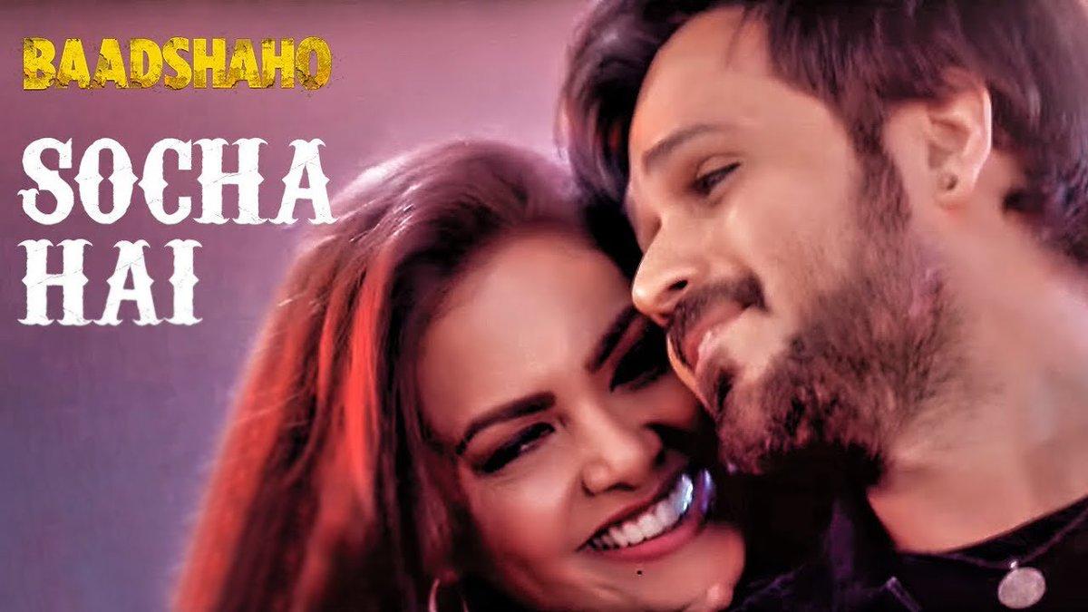 The bina #rap wala #remix is here! Watch #SochaHai featuring @emraanhashmi @eshagupta2811 from @Baadshaho:  http:// bit.ly/SochaHai  &nbsp;   @TSeries<br>http://pic.twitter.com/sMke5TUlv1