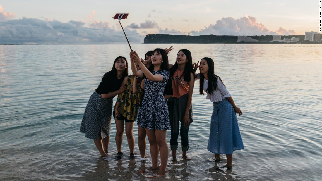 Despite the threat coming from Kim Jong Un and North Korea, tourists are still heading to Guam https://t.co/4sSSOjJEwu