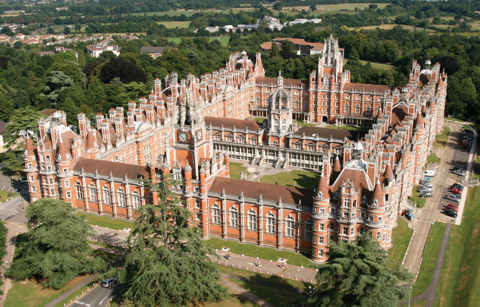 Royal Holloway , University of London (RHUL) มหาวิทยาลัยในอังกฤษ