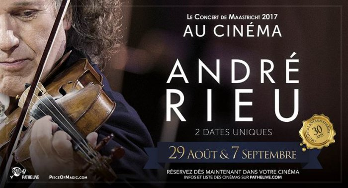 #andrerieu #Dijon #cinema #Maastricht to be screened for only 2 dates at the cinema #Darcy  http://www. infos-dijon.com/news/dijon/dij on/cinema-une-experience-musicale-et-cinematographique-avec-andre-rieu.html &nbsp; … <br>http://pic.twitter.com/QhF8iHyadF