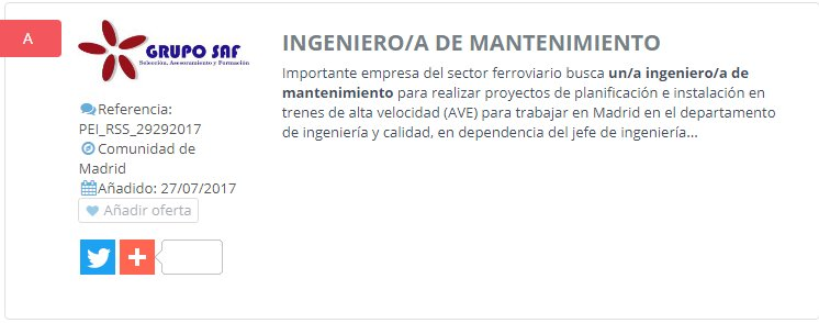 NUEVA OFERTA DE EMPLEO: Ingeniero de mantenimiento--> https://t.co/W4tuL3zKjY https://t.co/Pl5ZqvUCEq