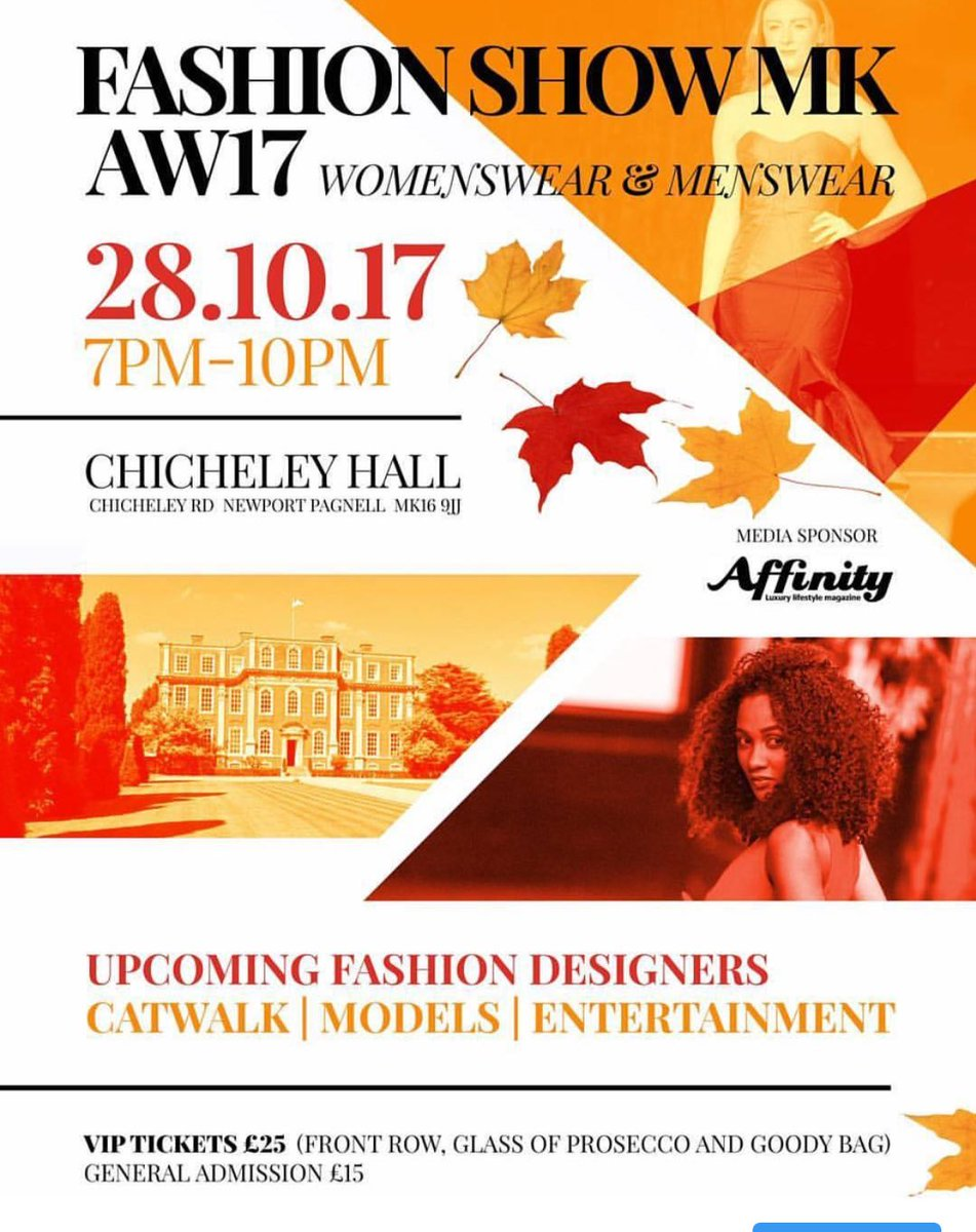 Have you got your tickets to #fashionshowmk 28th October 7-10pm. Link in bio #miltonkeynes #eventprof #fashion<br>http://pic.twitter.com/TREKywFDlz