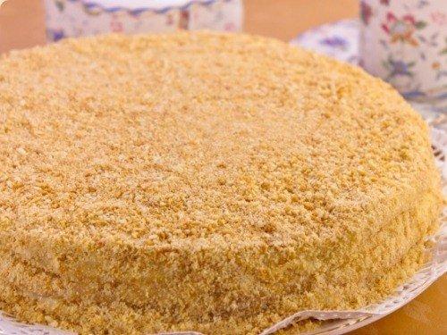 Торт наполеон рецепт из готового слоеного теста
