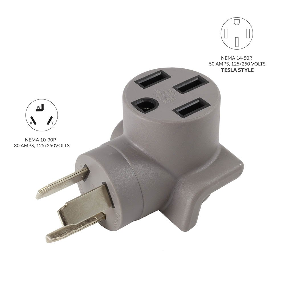 Ac Connectors On Twitter Works Ev Charging Adapter Nema 10 250 Volt 50 Amp Wiring 30p 3 Prong Dryer Plug To Tesla Electricalvehicle Elonmusk Teslamotors