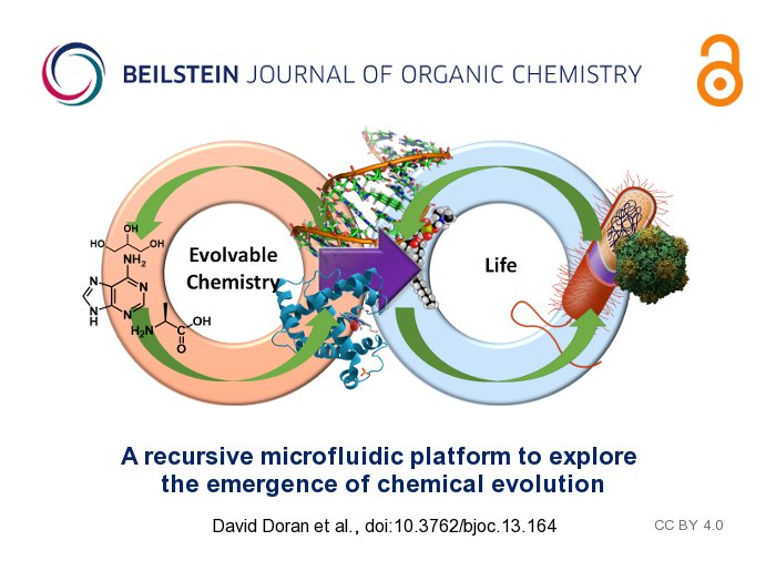 Read new #OA article of @leecronin on exploring the emergence of chemical #evolution in Beilstein JOC  http:// tinyurl.com/yaupg8g6  &nbsp;  <br>http://pic.twitter.com/lpcC6kcCod