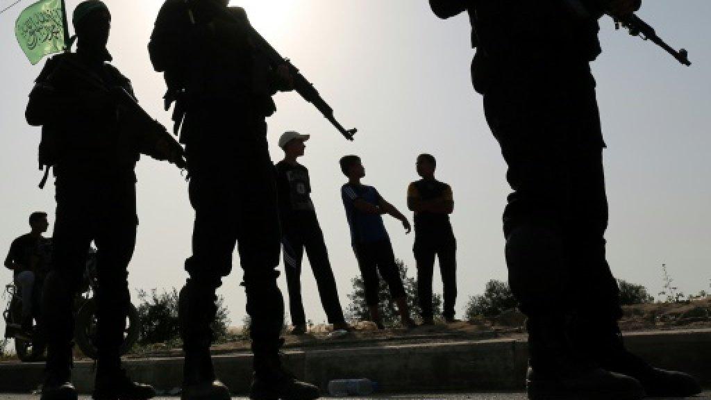 Hamas guard killed in rare suicide attack in Gaza Strip https://t.co/c6735kpKgt