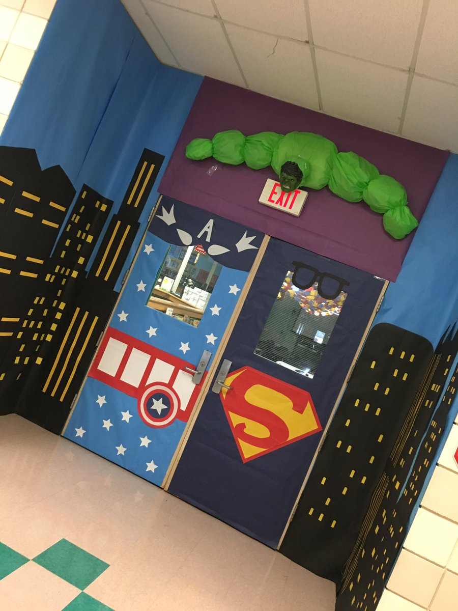 Once again Angie Merriman wins! #librarian #superheroes #AISDgotheart<br>http://pic.twitter.com/mvO4yf6hrY