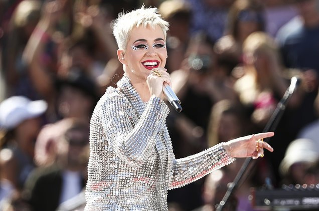 Katy Perry pushes back start of Witness Tour due to 'unavoidable produ...