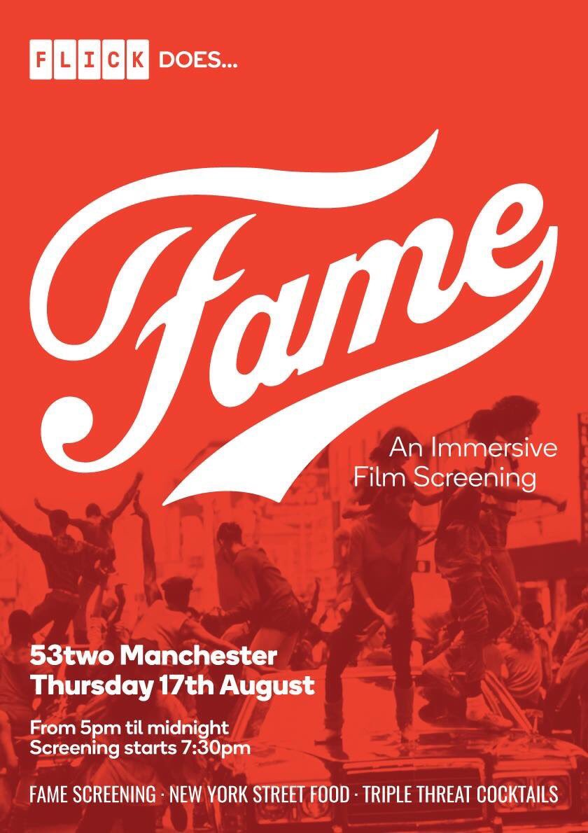 Rehearsals under way for @FLICKMcr does #FAME! You better bring the talent!  Tix available on the door-still time to get your #Legwarmers!<br>http://pic.twitter.com/kgL24hvrHH