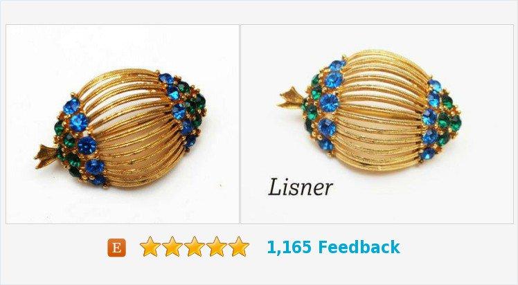 Lisner Brooch Blue Green Rhinestone Gold tone Pin Mid Century #pin #clip #brooch #lisner #rhinestonebrooch #blue   https://www. etsy.com/serendipitytre asure/listing/458510882/lisner-brooch-blue-green-rhinestone-gold?ref=listing_published_alert &nbsp; … <br>http://pic.twitter.com/Q4GzVGJICs